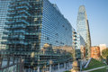 May 2017 - View of Diamante Diamond Tower, inside `Porta Nuova` Area in Milan, near Garibaldi train Station