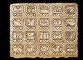 Maya Calendar Royalty Free Stock Images