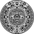 Maya calendar Royalty Free Stock Photo