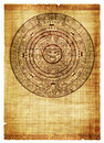 Maya calendar Stock Photography