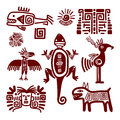 Maya or indian traditional signs