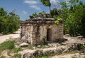 Maya Temple Yucatan Mexico Royalty Free Stock Photo