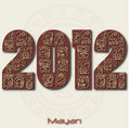 Mayan 2012 Royalty Free Stock Photos
