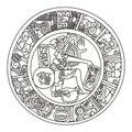 Mayan artwork