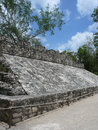 Mayan ball court Royalty Free Stock Photo