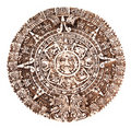 Mayan calendar Royalty Free Stock Images