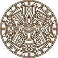 Mayan calendar Royalty Free Stock Photo