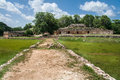 Mayan Complex in Labna Yucatan Mexico Royalty Free Stock Images