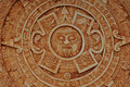 Mayan God Calendar Royalty Free Stock Photography