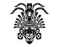 Mayan Mack Tribal Tattoo