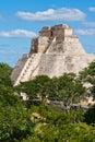 Mayan pyramid (Pyramid Royalty Free Stock Images
