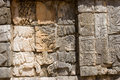 Mayan Relief. Chichen Itza.  Royalty Free Stock Photography