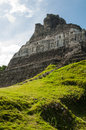 Mayan ruin xunantunich in belize Stock Photo