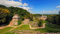 Mayan ruins in Palenque, Chiapas, Mexico Royalty Free Stock Photo