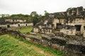 The mayan ruins of tikal on guatemala Royalty Free Stock Photo