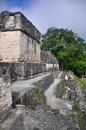 Mayan ruins at tikal guatemala one of the largest archaeological sites and urban centres of the pre columbian maya civilization Stock Image