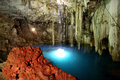 Mayan sacrifice cenote Dzitnup Stock Photo