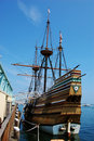 The Mayflower II Royalty Free Stock Photo