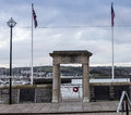 Mayflower Steps Plymouth Harbour