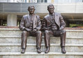 Mayo Clinic brothers william charles statue Royalty Free Stock Photo