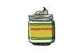 Mayonnaise BOTTLE, illustration
