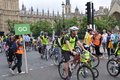 Mayor of london s skyride cycling event in london england sep on sep a new record cyclists took part Stock Image