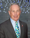 Mayor Michael Bloomberg Stock Photography