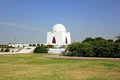 Mazar-e-quaid - Mohammad Ali Jinnah, Karachi Pakistan Royalty Free Stock Photo