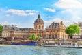 Mazarin Library Bibliotheque Mazarine Royalty Free Stock Photo