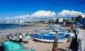 Mazatlan Fishermen Royalty Free Stock Photo