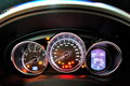 Mazda CX-5 instrument cluster Royalty Free Stock Image