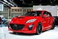 Mazda Thrilling 5 Royalty Free Stock Image