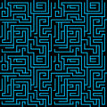 Maze background Royalty Free Stock Photo