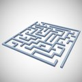 Maze concept for your business presentation this is file of eps format Royalty Free Stock Photo