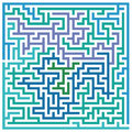 Maze or labyrinth abstract background of intricate Royalty Free Stock Photos