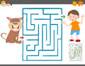 Maze leisure game for kids