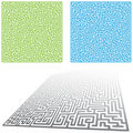 Maze Set Royalty Free Stock Photos
