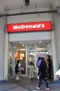 Mc donalds in hong kong donald s located Royalty Free Stock Photos