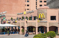 Mc donalds restaurant in marrakesh morocco nov fastfood the city of november morocco Stock Photo