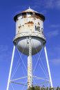 McClure Water Tower Royalty Free Stock Photo