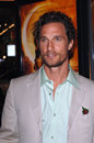 Mcconaughey matthew actor at the los angeles premiere of his new movie sahara at the grauman s chinese theatre hollywood april los Royalty Free Stock Image