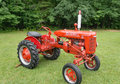 McCormick Farmall Antique Tractor Royalty Free Stock Photo