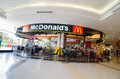 Mcdonald restaurant thailand in the mall supermarket Royalty Free Stock Photo