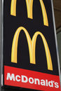 McDonald's Sign Stock Images