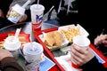 Mcdonalds burger menu copenhagen denmark may photo by francis dean dean pictures Stock Photo