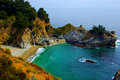 McWay Falls in Big Sur Stock Photography
