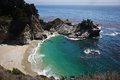 Mcway falls overlook along highway Stock Photography