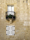 Mdina Balcony Royalty Free Stock Image