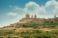 Mdina in the day malta Royalty Free Stock Images