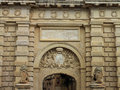 Mdina main gate the to in malta was built in by antonio manoel de vilhena to a design by the french architect charles francois de Stock Image